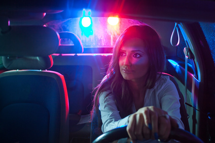 Woman chaced and pulled over by police
